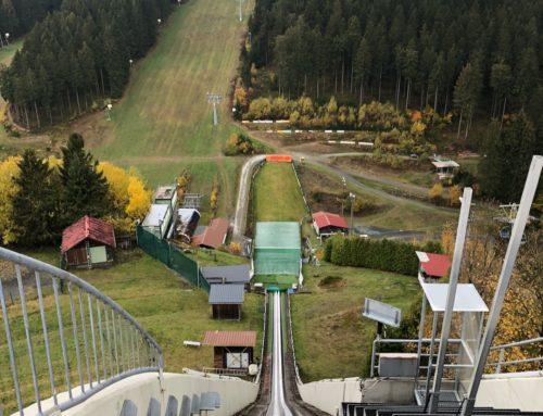 Skisprungschanze in Winterberg